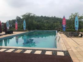 庐山脚下 山水别墅 风光秀丽 自带泳池 阳光明媚 价格优惠